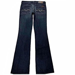 7 For All Mankind Bootcut 29X35 Long NWT Jeans